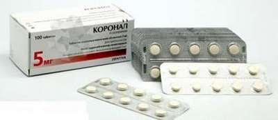 Коронал: инструкция по применению, показания и противопоказания, стоимость препарата